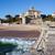 gebouwen · strand · zee · hemel · boom · zon - stockfoto © rognar