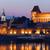 evening in medieval city of torun in poland stock photo © rognar