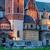 real · castelo · Polônia · viajar · rio · tijolo - foto stock © rognar