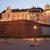 royal · château · Pologne · Voyage · rivière · brique - photo stock © rognar