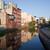 lebeg · lakások · folyó · sziget · ősz · házak - stock fotó © rognar