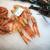 fresh prawns on a seafood market stall stock photo © rognar