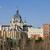 katedry · Madryt · Hiszpania · pałac · zmierzch · wygaśnięcia - zdjęcia stock © rognar