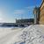 花崗岩 · 壁 · 雪 · 冬 - ストックフォト © Roka