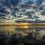 tó · naplemente · drámai · gyönyörű · égbolt · felhők - stock fotó © Roka