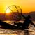 sunset and fisherman on inle lake stock photo © romitasromala