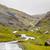 スコットランド · 山 · 表示 · 道路 · 高地 · 海 - ストックフォト © romitasromala