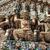 guardião · templo · blue · sky · Tailândia · cara · viajar - foto stock © romitasromala