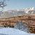 ベンチ · 丘 · スイス · 市 · 家 · 雲 - ストックフォト © romitasromala
