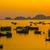 zee · zonsondergang · Vietnam · kat · eiland · haven - stockfoto © romitasromala