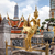 Golden Kinnara Statue in Grand Palace of Bangkok stock photo © romitasromala