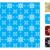végtelenített · kötött · minta · piros · kék · fehér - stock fotó © ronfromyork