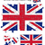 İngiliz · bayrağı · bayrak · 24 · parça · model - stok fotoğraf © ronfromyork