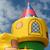 château · tour · nuageux · ciel · bleu · ciel · construction - photo stock © ronfromyork