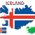 Iceland map and flag stock photo © ronfromyork