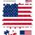ABD · bayrak · 30 · parça · model - stok fotoğraf © ronfromyork