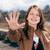 felice · teen · girl · cinque · bella · sorridere - foto d'archivio © rosipro