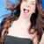 jonge · brunette · vrouw · lang · haar · geïsoleerd - stockfoto © rosipro