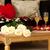 великолепный · номер · в · отеле · подготовленный · празднования · Валентин · два - Сток-фото © rosipro