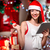 mooie · jonge · vrouw · kopen · presenteert · internet · vrouw - stockfoto © rosshelen