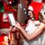 女性 · クリスマス · 装飾 · 画像 · 顔 · セクシー - ストックフォト © rosshelen