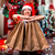 若い女性 · ショッピングバッグ · クリスマス · 装飾 · キャンドル · 贈り物 - ストックフォト © RossHelen