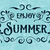 Summer holidays typography for poster. Vector background. stock photo © roverto