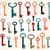 set of old keys stock photo © roverto