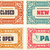 retro cards and door signs organized by layers stock photo © roverto
