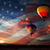 nap · színes · léggömbök · repülés · napfelkelte · USA - stock fotó © rozbyshaka