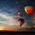 románc · repülés · forró · levegő · léggömb · repülés - stock fotó © rozbyshaka