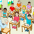 tanár · diák · osztályterem · gyerekek · tanul · matematika - stock fotó © rudall30