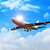 business · vliegtuig · af · vliegen · blauwe · hemel - stockfoto © rudall30