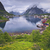 Норвегия · живописный · Панорама · рыбалки · порта - Сток-фото © rudi1976