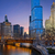 Чикаго · сумерки · центра · США · дороги - Сток-фото © rudi1976