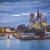 Собор · Нотр-Дам · Париж · сумерки · Cityscape · реке · Франция - Сток-фото © rudi1976