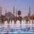 kék · mecset · napfelkelte · Isztambul · Törökország · épület - stock fotó © rudi1976
