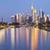 Duitsland · Frankfurt · skyline · hoofd- · zonsondergang - stockfoto © rudi1976