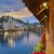 изображение · Швейцария · сумерки · синий · час · древесины - Сток-фото © rudi1976