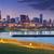 Chicago · víz · torony · reggel · égbolt · épület - stock fotó © rudi1976