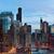Chicago · crepúsculo · centro · da · cidade · lago · Michigan · edifício - foto stock © rudi1976