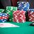 男 · 演奏 · ポーカー · 2 · 黒 - ストックフォト © ruigsantos