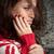 nő · könnyek · szem · néhány · akasztás · szempilla - stock fotó © ruigsantos