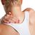 Maakt · een · reservekopie · pijn · massage · vrouw · rugpijn · achter - stockfoto © ruigsantos
