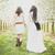 bahar · iki · hippi · kızlar · kiraz · çiçeği · yürümek - stok fotoğraf © runzelkorn