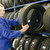 man in the tire store with a tire stock photo © runzelkorn