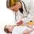 bebek · tıp · yetişkin · kadın · çocuk · doktoru - stok fotoğraf © runzelkorn
