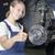 自動 · 修復 · 研修生 · 満足した · 女性 · メカニック - ストックフォト © runzelkorn