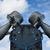 полюс · 3d · визуализации · синий · связи · воздуха - Сток-фото © ruslanomega