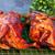 два · петух · красивой · оранжевый · петух · изолированный - Сток-фото © ruslanomega